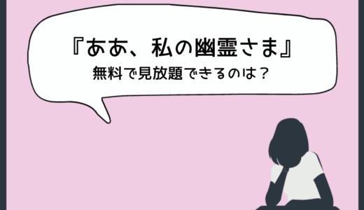 『ああ、私の幽霊さま』を日本語字幕付き無料で見放題できる動画配信サービス