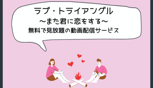 韓国ドラマ『ラブ・トライアングル~また君に恋をする~』を無料で見放題の動画配信サービス
